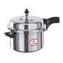 Bajaj Majesty 3Ltr Aluminium Outer Lid Pressure Cooker - Silver