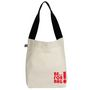 Be For Bag Cotton Canvas Arch Tote-Beige