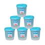 Chetan 6Pcs (5 Ltr) Twist Lock Kitchen Storage Container Set - Blue