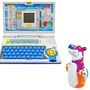 Combo of Kids 20 Activity English Learner Laptop + Intex Hit Me Bop Bag