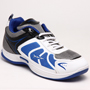 Columbus PU Sports Shoes - White & Blue-1931