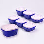 Set of 7 Cutting Edge Snap Tight Containers Maxi Range - Blue