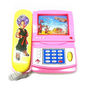 Battery Operated Musical Cartoon Telephone Toy for Kids