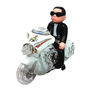 Gangnam Style Bike Rider Toy With Music Sing & Flashing Light