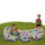 Set of 3pcs Inflatable Sofa Set & Table For Kids