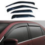 Car Door Visor For Tata Safari - Black inm1236