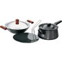 Hawkins Futura 4pcs Hard Anodized Cookware Set - Black LS4