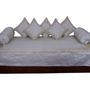Little India 8 Piece Diwan Set - Grey