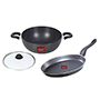 Ok Non-Stick Classic Set of 2Pcs-KD2+FPT1 - Black