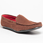 Pede Milan Faux leather Loafers - Brown-2101