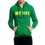 Brohood Cotton Blend Full Sleeves Casual Sweatshirt For Men_skhc33027 - Green