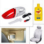 Combo of 4 Accessories for Sedan Cars