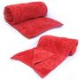 Set of 2 Little India Designer Printed Single  Bed Blankets -Red- DLI4SBK1062