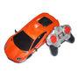 Adraxx Sports Car Model with Headlights 1:18 Scale - Orange