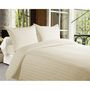 Storyathome Cotton Off White King Size 1 Bedsheet + 2 Pillow Cover-FE2057