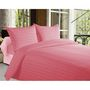 Storyathome  Cotton Pink King Size 1 Bedsheet + 2 Pillow Cover-FE2059
