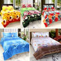 15 Pcs 3D Design Cotton Bedsheets Combo-TRT-001