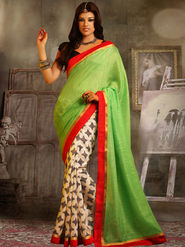 Viva N Diva Printed Bhagalpuri Saree -sa04