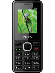 Intex Nano 104 Dual SIM Mobile Phone - Black