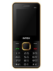 Intex Turbo S4 Dual SIM Mobile Phone - Golden & Black