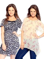 Combo Of 2 Mind The Gap Cotton Printed Tunic_SFC-7005_7041