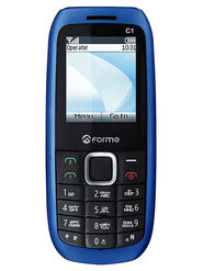 Forme C1+ 1.8 Inch Dual Sim Mobile - Blue