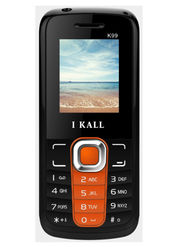 I Kall K99 1.8 inch Dual Sim Mobile  - Black & Orange