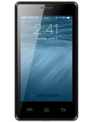 Karbonn A81 4 Inch Android KitKat 3G Smartphone (RAM:512MB ROM:4GB) - Black & Grey