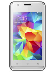 Trio T41 Selfie II 4 Inch Android KitKat 3G Smartphone - White