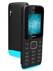 Lava Arc Magic + 1.8 Inch Dual Sim - Black & Blue
