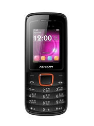 ADCOM Freedom X6 Dual SIM Mobile Phone - Black & Orange
