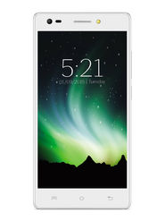 Lava Pixel V2 Android Lollipop Quad Core Processor with 2GB RAM & 16GB ROM - Crystal White