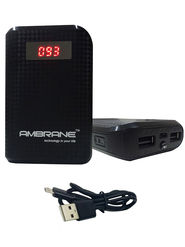 Ambrane Power Bank P-6000(6000 mAh) - Black