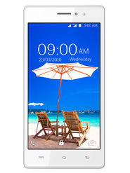 Lava A89 4G Lollipop 5.1 Quad Core Smart Phone (RAM:1GB ROM:8GB Upgradable:Marshmallow 6.0) White