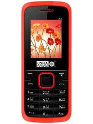 Usha Shriram A3 Feature Phone (Dual Sim,Black & Red)