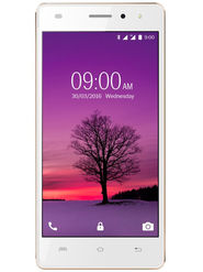 Lava A72 Lollipop 5.1 Quad Core (RAM : 1GB ROM : 8GB) - White & Gold