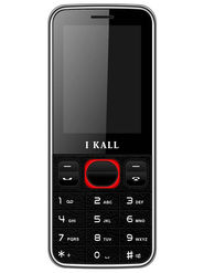 I Kall K23 Dual SIM Mobile Phone (Black Red)