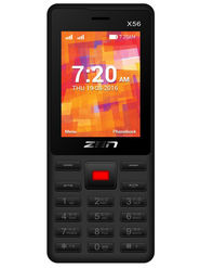 ZEN X56 Dual SIM Feature phone (Black Red)