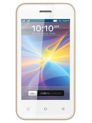 ZEN Flair Dual SIM Touchpad Phone (Golden)