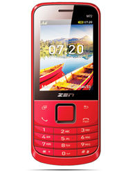 ZEN M72 New Dual SIM Feature phone (Red)