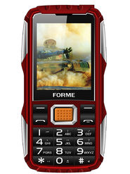 Forme Gorilla 2.4 inch Dual Sim Feature phone (Red)