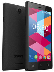 ZEN Cinemax 2+ 5.5 inch Lollipop (RAM : 1GB : ROM : 8GB) 3G Smart Phone (Black)