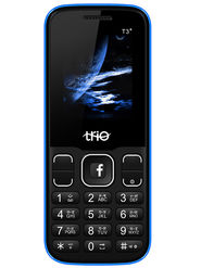 Trio T3 Star Dual Sim Feature Phone (Royal Blue)