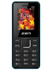 ZEN Power 101 X60 Dual SIM Feature Phone (Black Blue)