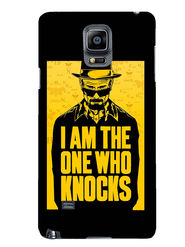 Snooky Designer Print Hard Back Case Cover For Samsung Galaxy Note 4 - Yellow