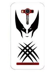 Snooky Designer Print Hard Back Case Cover For Asus Zenfone 2 Laser 5.0 (ZE500KL) - White