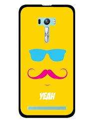 Snooky Designer Print Hard Back Case Cover For Asus Zenfone Selfie ZD551KL - Yellow