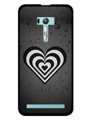 Snooky Designer Print Hard Back Case Cover For Asus Zenfone Selfie ZD551KL - Grey