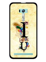 Snooky Designer Print Hard Back Case Cover For Asus Zenfone Selfie ZD551KL - Cream