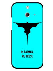Snooky Designer Print Hard Back Case Cover For HTC One E8 - Sky Blue